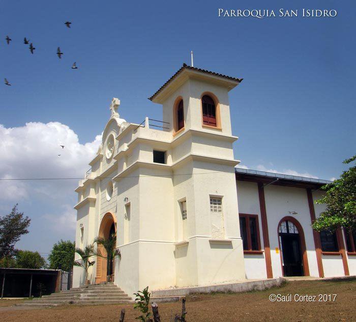 La parroquia San Isidro, en el cantón San Isidro, izalco, Sonsonate.