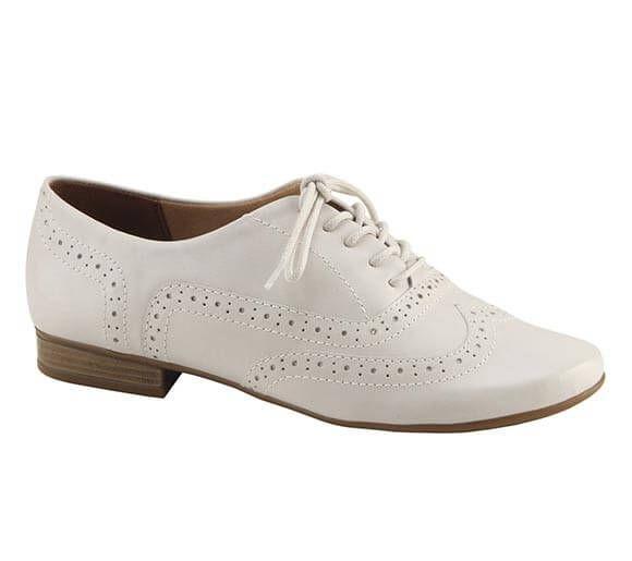Sapato oxford em couro com recortes a laser | Sapatos | Bottero Calçados