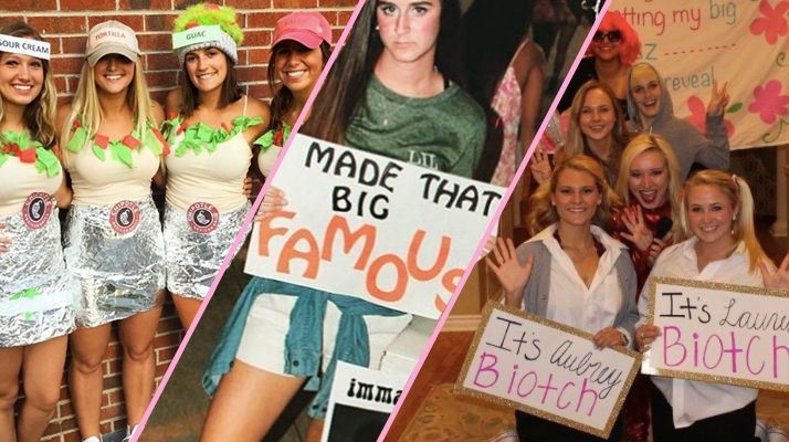 Tis the season for costumes. Nope, not quite Halloween. Being in a sorority means you get to dress up in costumes through various times of the year, but one of the most important is obviously Big/Little reveal. No one can really say how this tradition started and then transformed into a second Halloween, but my…