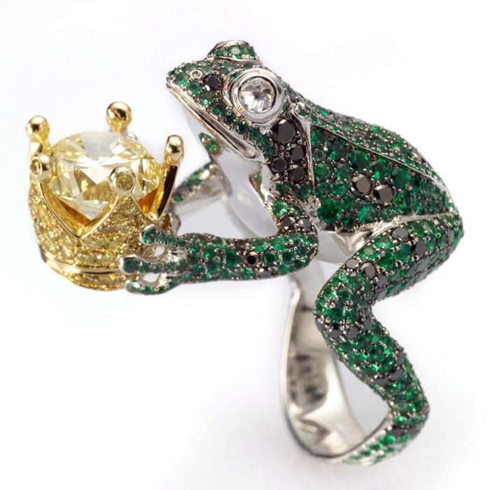 Animal jewellery: the Frog Prince works his magic                              …                                                                                                                                                                                 More