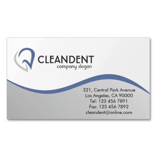 71 best images about Dental Dentist fice Business Card