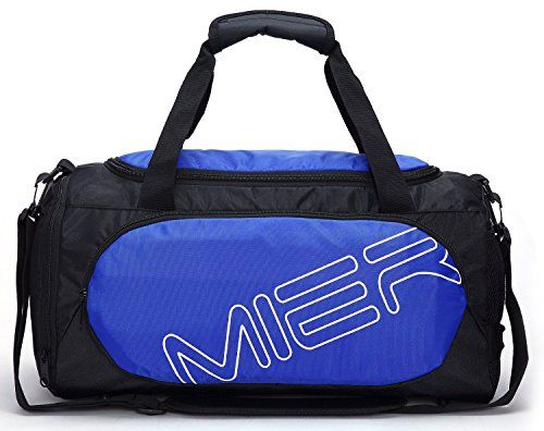 MIER Small Gym Sports Bag For Men And Women With Shoes Co