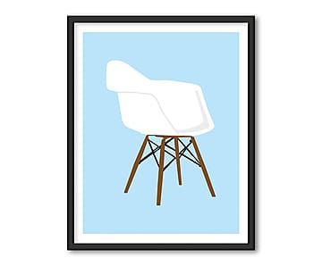 Gerahmter Digitaldruck Chair, 40 x 50 cm