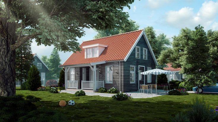 Proef de sfeer en het buitenleven in dit landelijk vakantiehuis. Speelse details als de veranda …