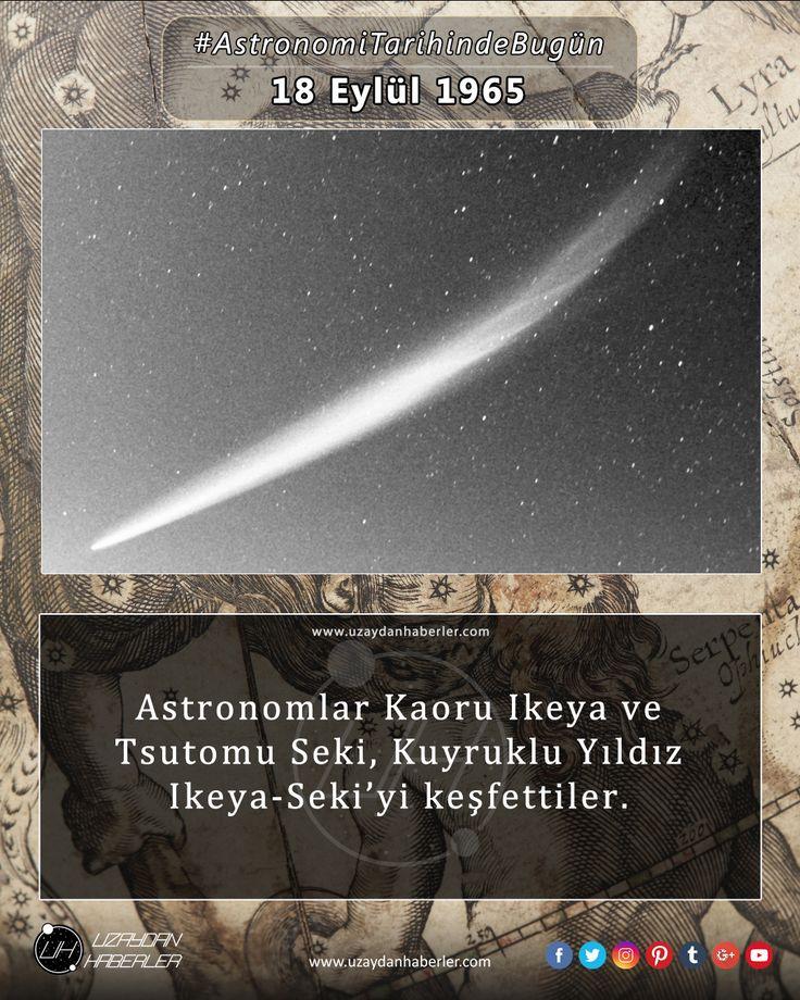 Astronomi Tarihinde Bugün 18 Eylül Detaylar için görsele tıklayınız