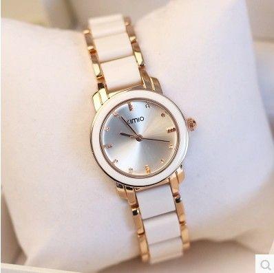 Luxury Brand KIMIO Watches Women Gift Reloj oro Rosa Mujer Montre Etanche Femme Ladies Bracelet Quartz Watches Relogio Feminino