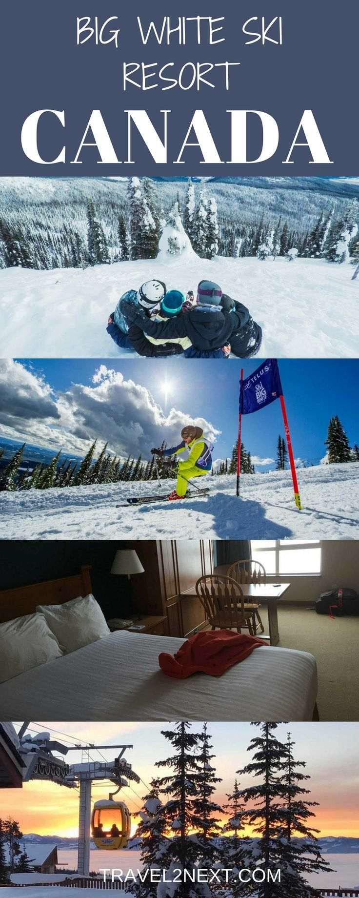 If you're after a relaxed ski holiday, Big White Ski Resort near Kelowna in British Columbia, Canada, is a good family friendly option. Here are eight reasons to choose Big White for your next family skiing holiday.
