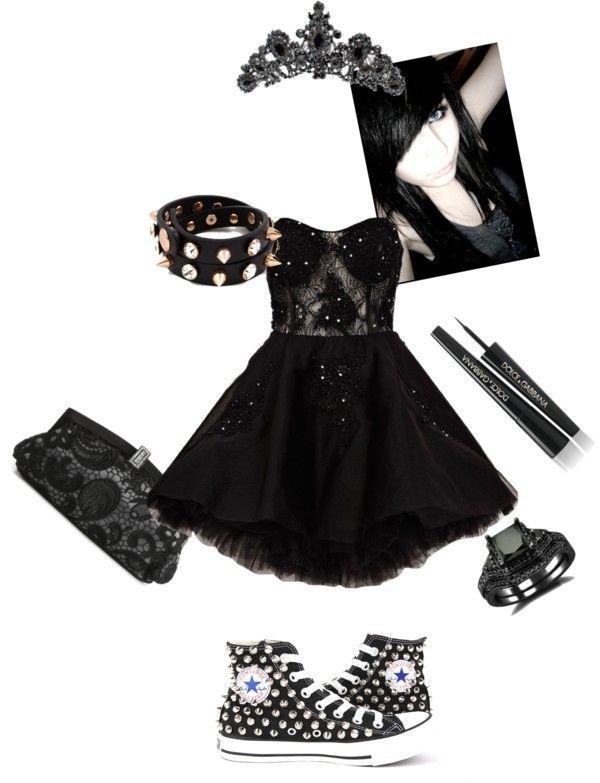 Best 25  Emo dresses ideas on Pinterest | Cute emo clothes, Punk ...