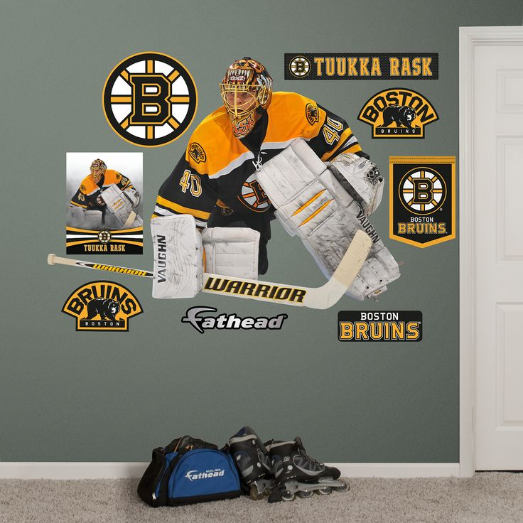 1000 images about nhl hockey players kids bedroom decor Bruins room decor