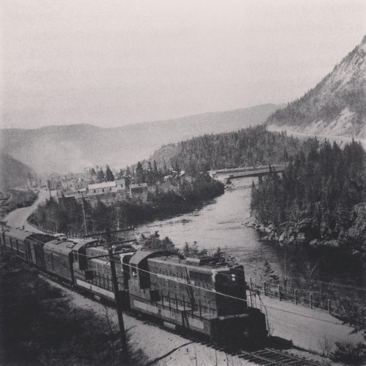 Flashback Friday: vintage pic of Humber Valley, Newfoundland. 1950s, credit to The Book of Newfoundland vol 3.