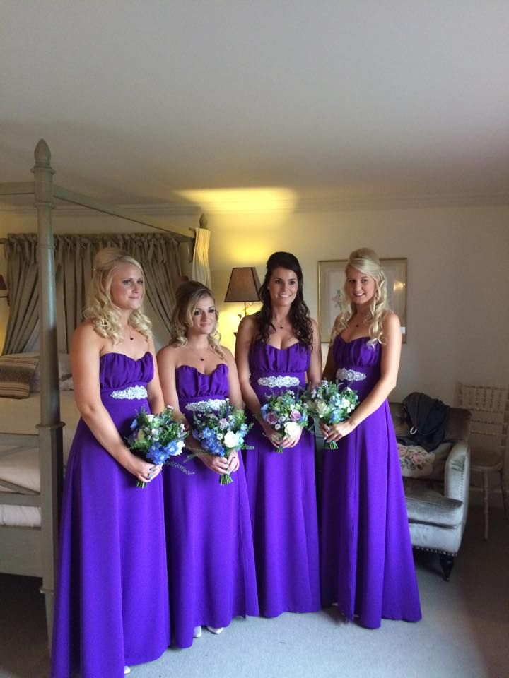Funky Cadbury Purple Bridesmaid Dresses Uk Picture Collection ...