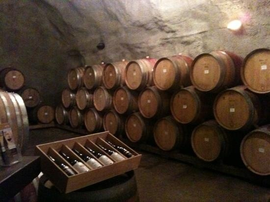 Wine Tasting in a Wine Cave