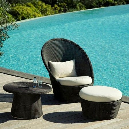 Cane Line Kingston Sunchair. Rattan Outdoor FurnitureOutdoor ... Part 34