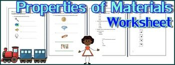 The Properties of Materials Worksheet