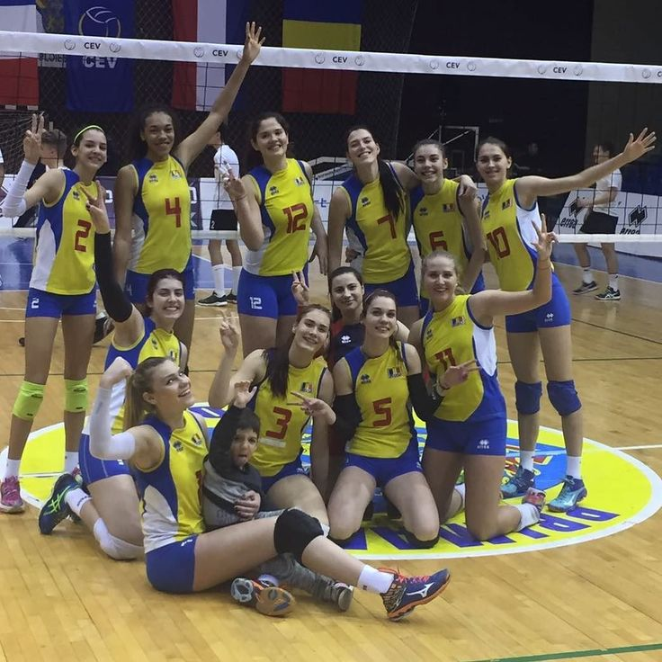 Victorie #Romania in primul meci Romania-Estonia 3-1 #FIVBWomensU20 #frvolei #Estonia #ourgirls #volei #volleyball
