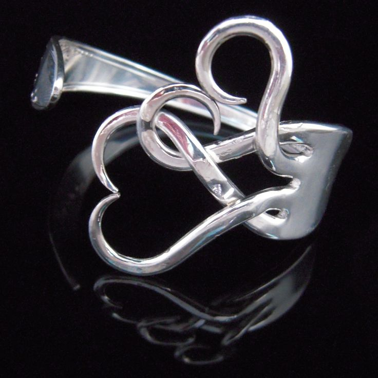 Bracelet made from a fork
