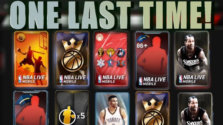 MASSIVE LAST VARIETY PACK OPENING OF NBA LIVE MOBILE SEASON 1! 96+ PULLS...
