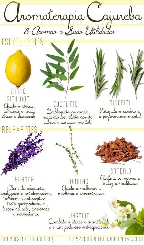 aromaterapia cajureba - 8 aromas!