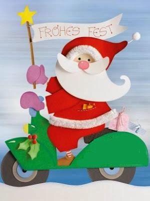 Οδός Παραμυθιών...: Προτάσεις χριστουγεννιάτικης διακόσμησης για την τάξη (Αη-Βασίλης)