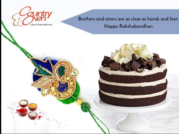 Make the auspicious occasion of Raksha Bandhan a memorable one with this gift hamper. ‪#‎RakshaBandhan‬ ‪#‎Rakhi‬ Order Online @ www.countryoven.com