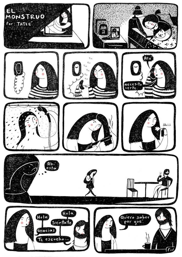 Tatee: El monstruo