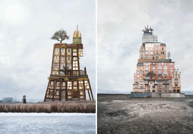 Surreal Houses