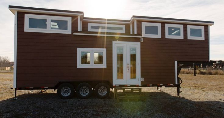 """The Lookout v2: the second edition of The Lookout which won """"Best in Show"""" at the 2016 Tiny House Jamboree. Designed and built by Tiny House Chatanoooga."""