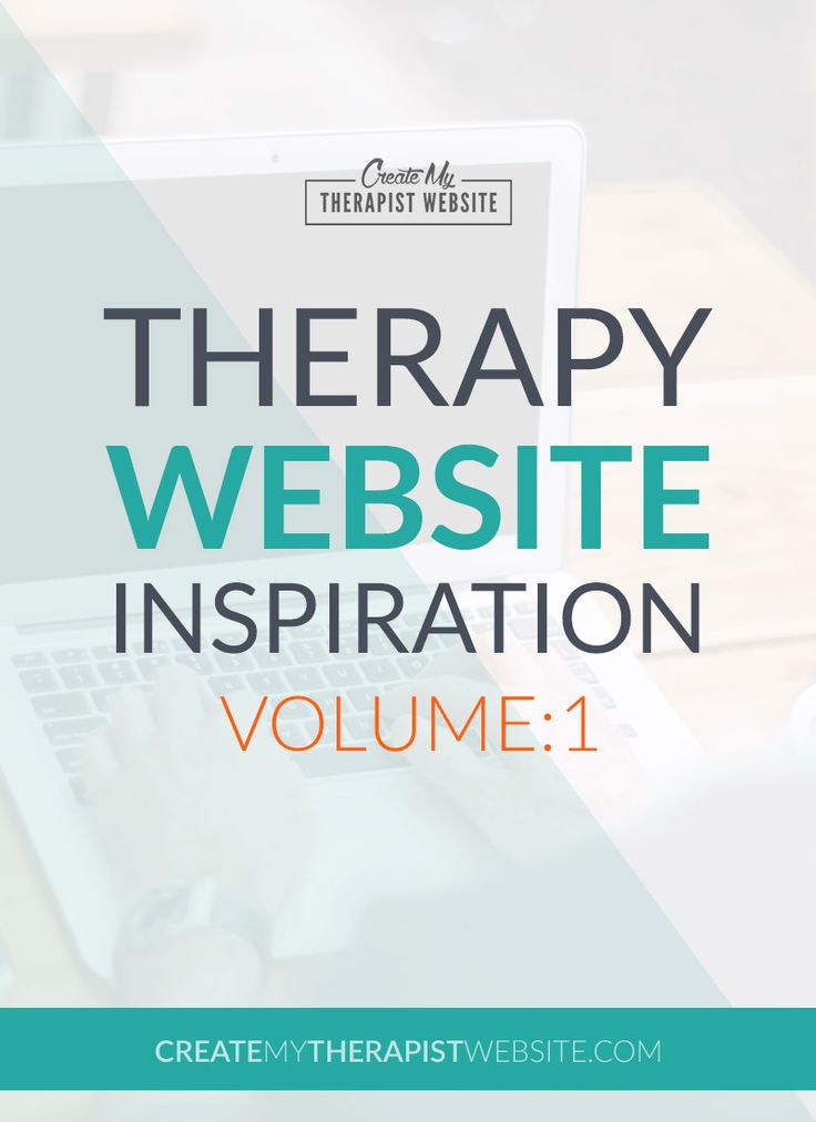 22 best Therapy Website Examples images on Pinterest Mental - examples of