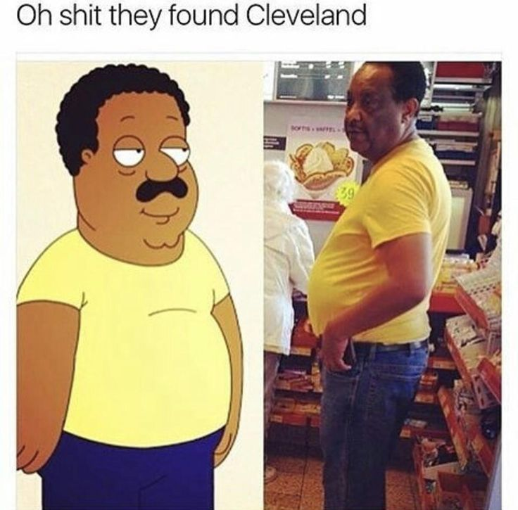 """""""My name is Cleveland Brown and I am proud to be right back in my home town with my new family"""""""