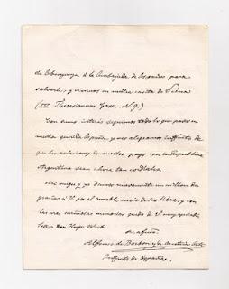 Carta de D. Alfonso Carlos al Dr. Gustavo Martínez Zuviría (Hugo Wast)