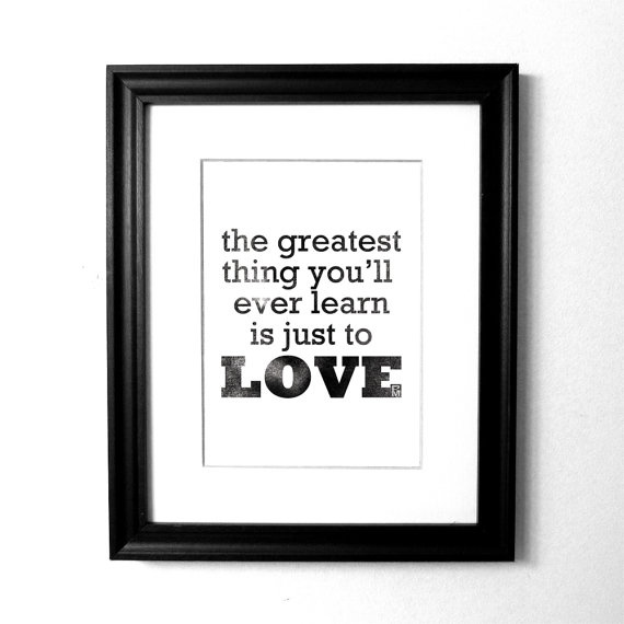 the greatest thing...: Modern Art, Faded School, Monogram Art, Art Prints, Letter Monogram, School Letter, Typography Art
