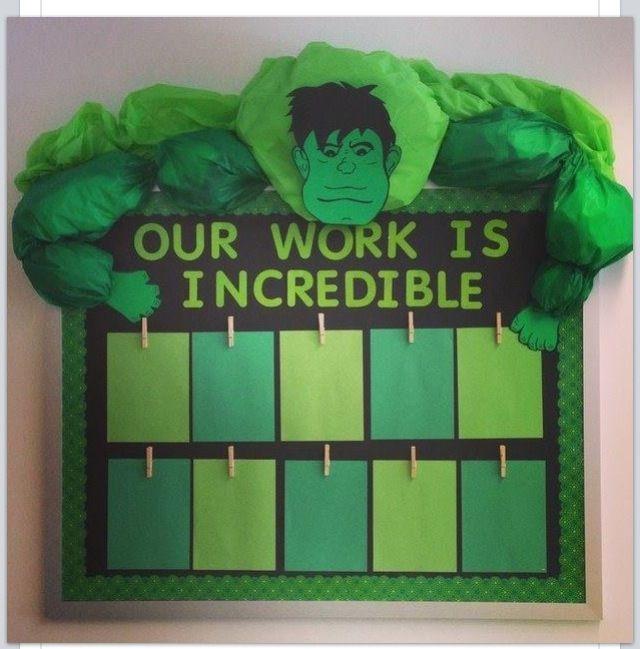 Hulk bulletin board