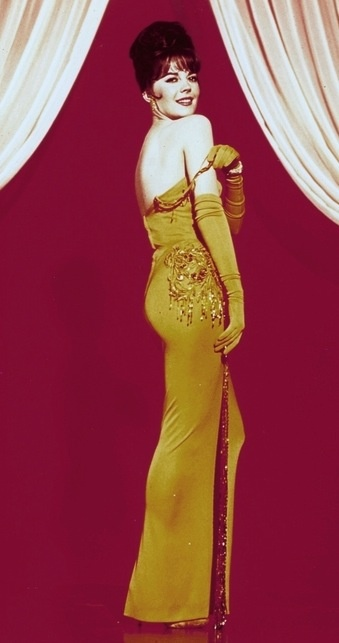 Natalie Wood  'Gypsy' gown by Australian costume designer Orry Kelly 1962......Uploaded By www.1stand2ndtimearound.etsy.com