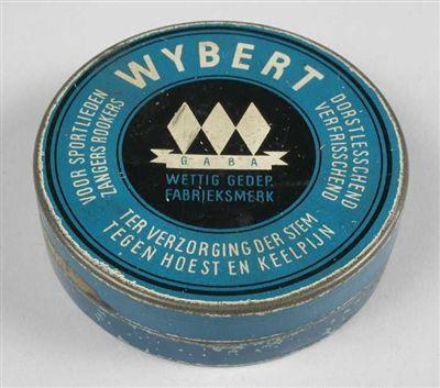 """Blik met los deksel, """"Wybert"""", blauw"""