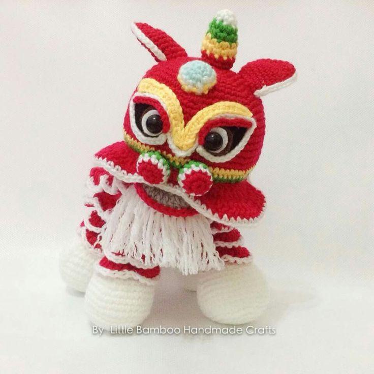 Amigurumi Chinese Dragon : Chinese New Year Dragon Amigurumi Pinterest New Year ...