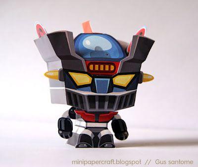 Mini Papercraft: Mazinger Z