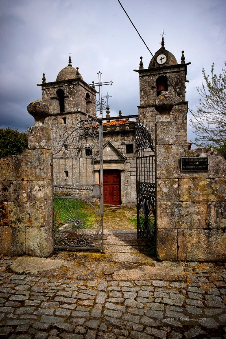 Church in Montesinho Natural Park, Portugal.