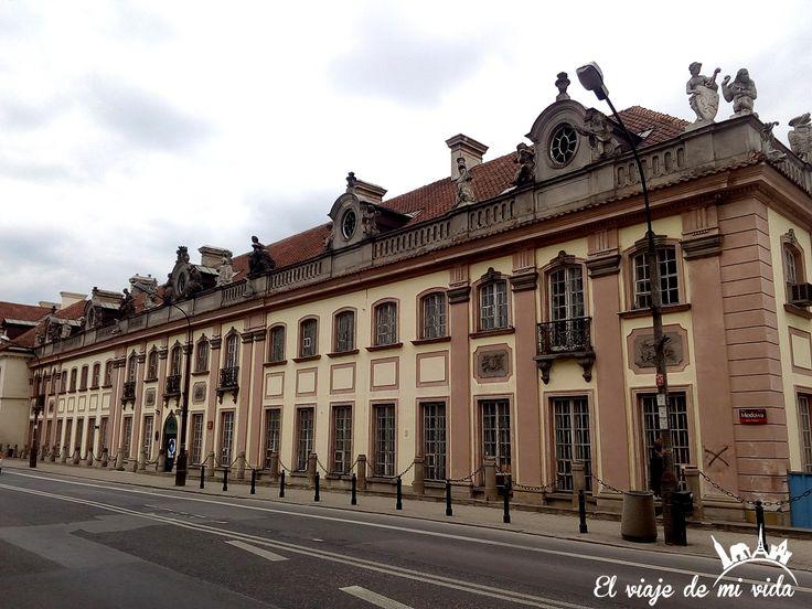 Edificios Varsovia Centro Polonia