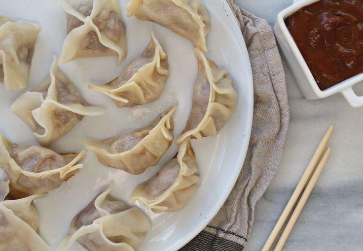 Dumplings + potstickers