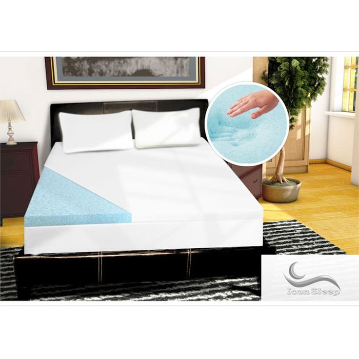 BUY NOW! Open Cell Cool Gel Infused Memory Foam Topper - 4-inch open cell gel infused memory foam mattress topper with deluxe infused gel beads distribute heat to ensure the optimal sleep temperature while providing superior pressure point relief. Imagine falling asleep faster, sleeping deeper, and waking up feeling refreshed and rejuvenated ! Our unique gel formulation plus premium open cell memory foam conforms to your body while providing proper spinal alignment. Our topper helps to ...