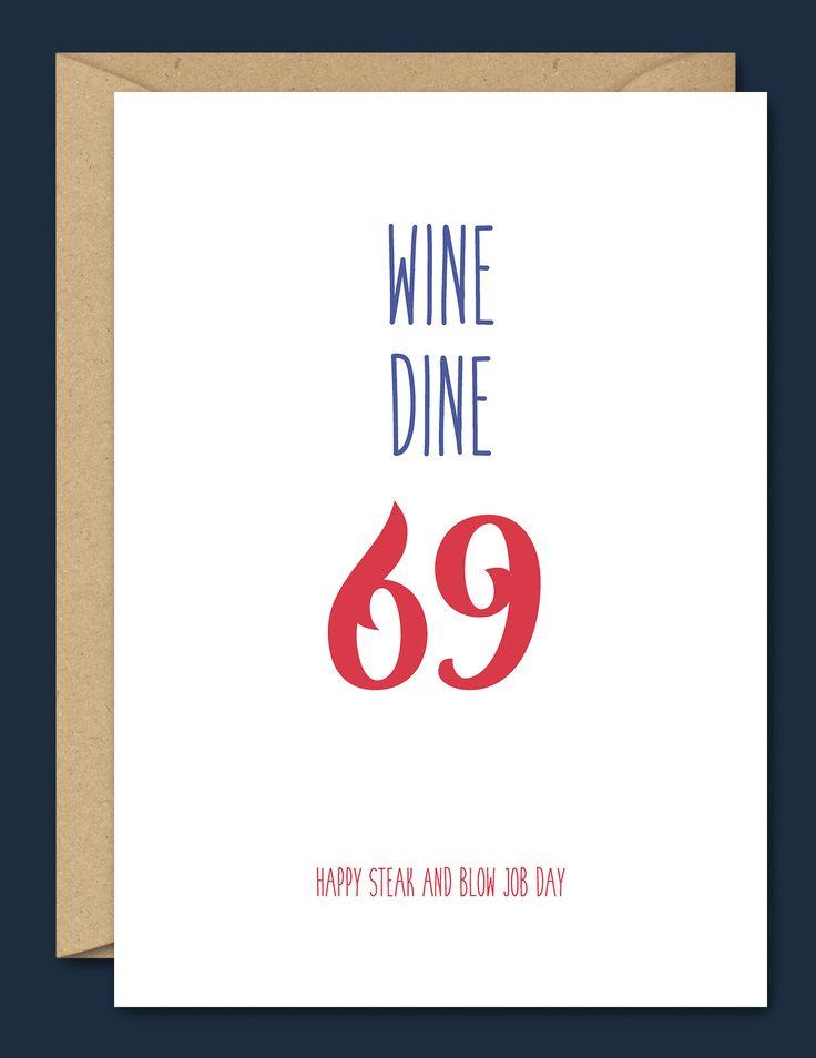 Wine Dine 69 – Steak and Blow Job Day – Blue Beryl