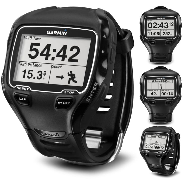 Garmin Forerunner 910XT GPS Sports Watch with HRM | GPS Run, Cycle, Swim