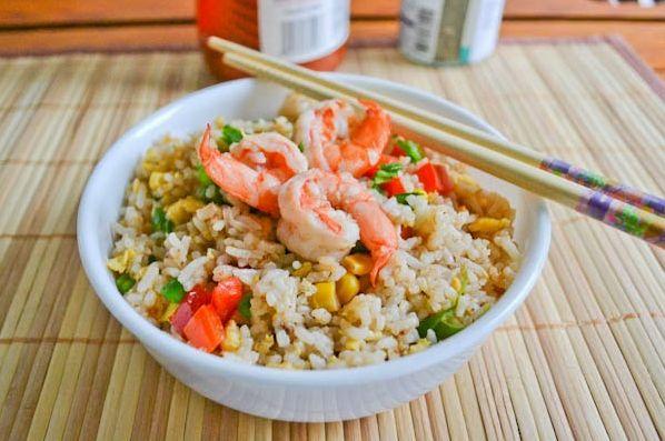 cara membuat nasi goreng seafood restoran