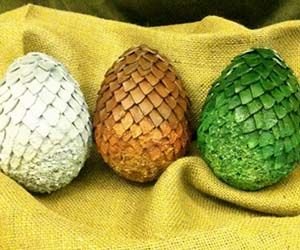 You don't have to be part of House Targaryen to get your hands on some rare and valuable dragon eggs. These custom-made eggs make excellent centerpieces and are available in the color styles shown on the TV series or from the book. Buy It $150.00 via Etsy.com