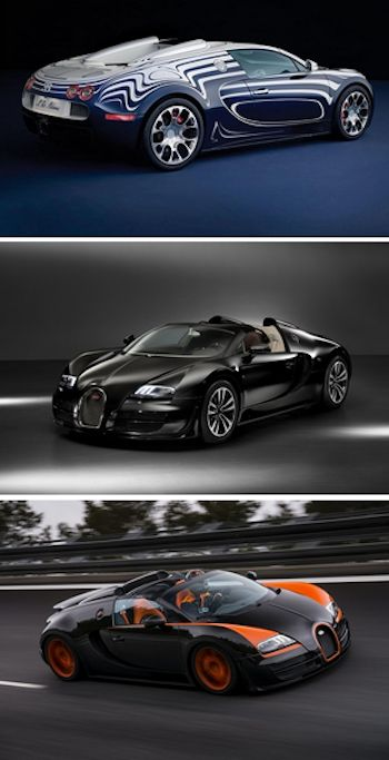 As we say goodbye to the Bugatti Veyron, which has been the best Bugatti ever? Check out the awesome selection by hitting the image...  #supercarporn #bugatti