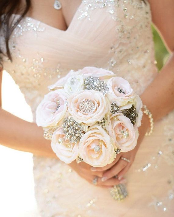 Why buy a real flower bouquet that will only last a day when you can have a romantic, gorgeous brooch bouquet to last you a life time?  Im happy to
