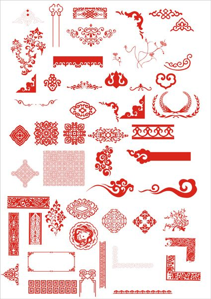 Chinese Traditional Pattern Vector - Hative