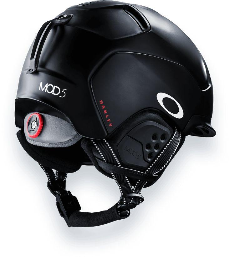 casques de ski oakley modular system helmet jet black