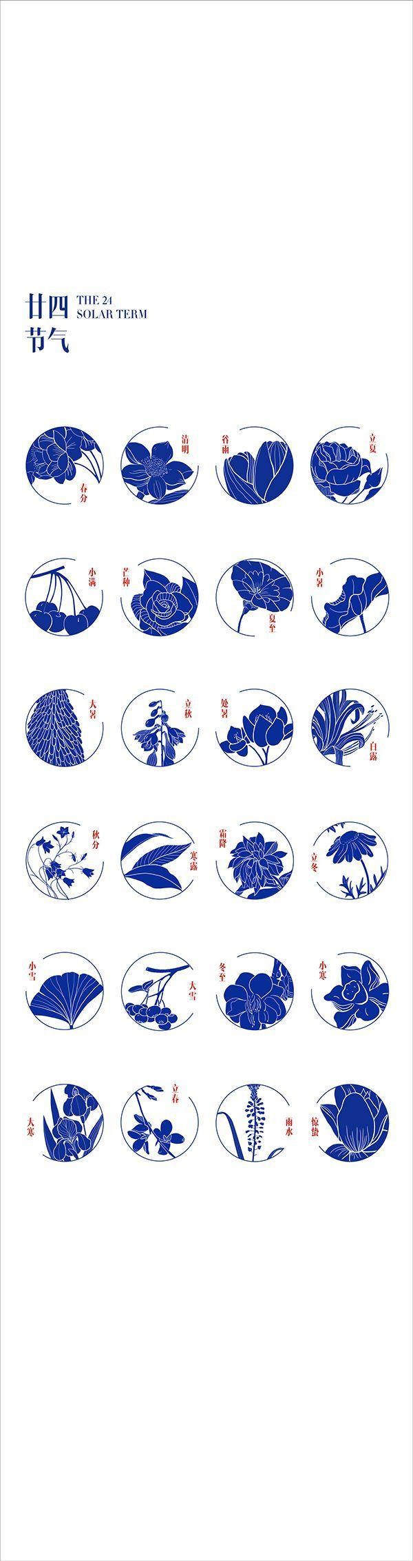 Chinese Lunar Calendar Redesign by Chu Crystal, via Behance #Uncategorized