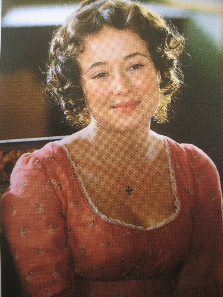 "Jennifer Ehle as Elizabeth Bennett in Jane Austen's ""Pride and Prejudice"" (1995)"